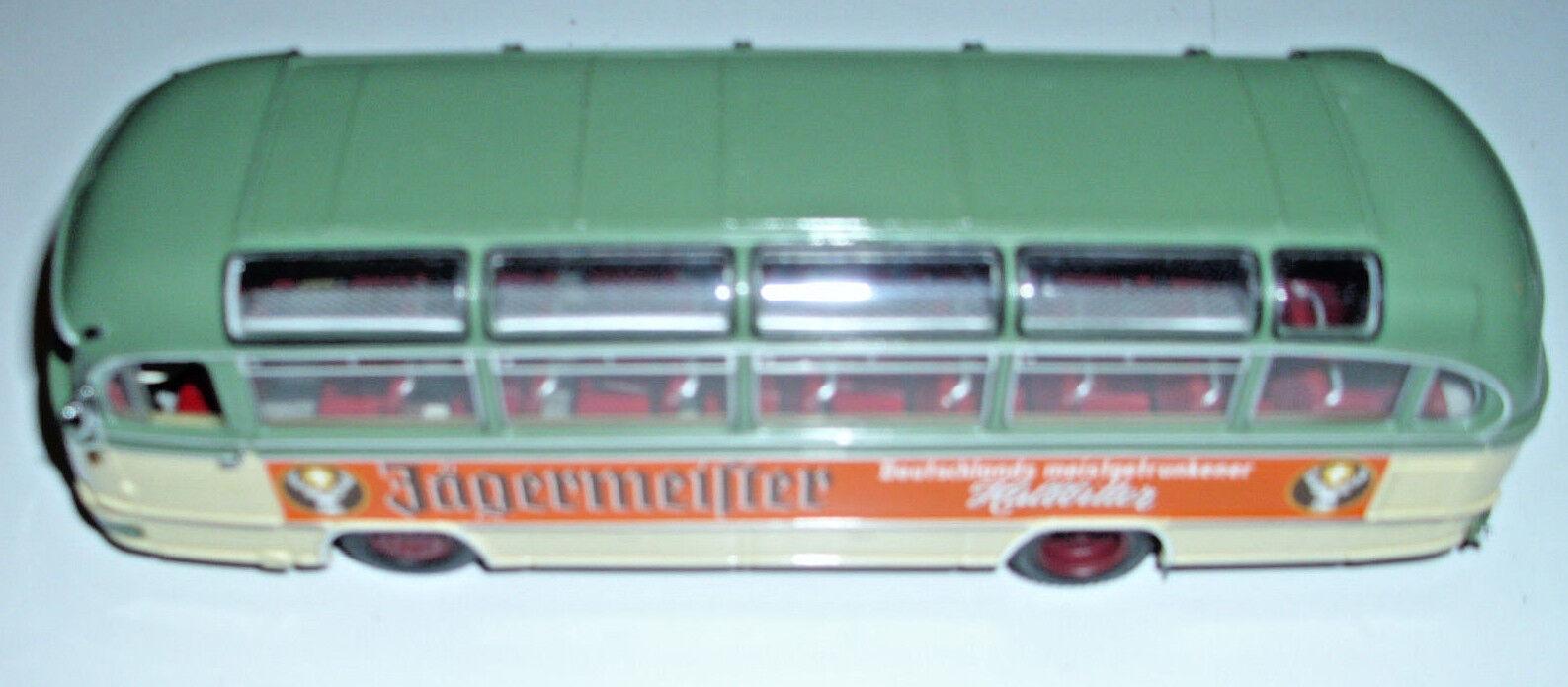 Minichamps 1 43 1957 Mercedes-Benz O321H Bus Jagermeister Edición Limitada 1 799