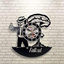 Bethesda Fallout 4 Handmade Vinyl Record Modern Vintage  Wall Clock
