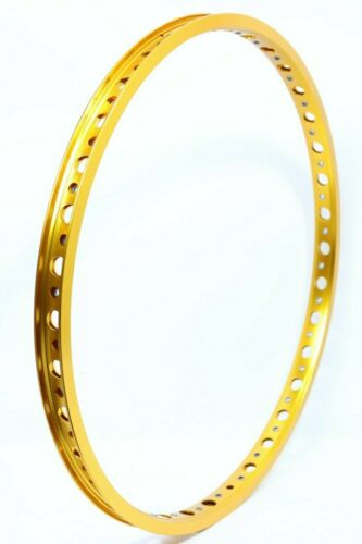 """Technique BMX Holeshot Rims 36h 622mm 29.5mm wide with eyelets 29/"""" Gold anodize"""