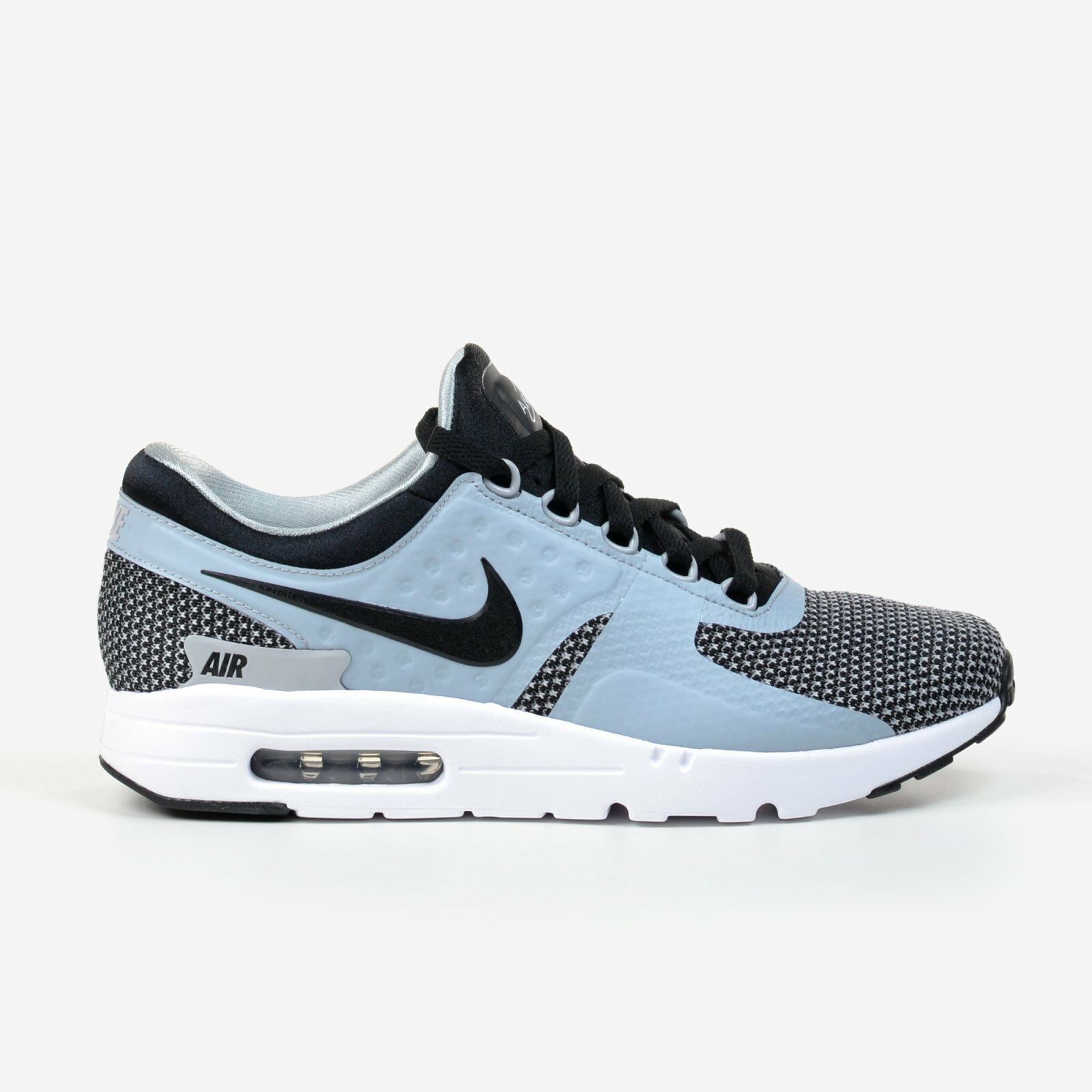 Nike Air Max Zero Essential Black Wolf Grey 2018 Men's Running Shoes 876070-002 New shoes for men and women, limited time discount
