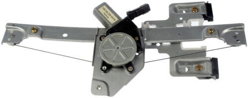 One  Rear Left Power Window Regulator With Motor Dorman 748-546