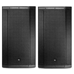"""JBL SRX835 15"""" Three-Way Bass Reflex Passive Speakers PAIR"""