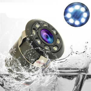 Waterproof-8-LED-Car-Backup-Rear-View-Reverse-Parking-HD-Camera-Night-Vision-Cam