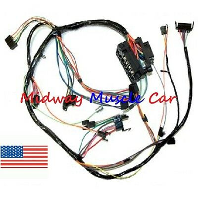 Dash wiring harness with fuse block 68 69 Chevy Nova | eBayeBay