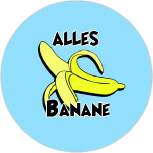 Alles-Banane-25mm-Button
