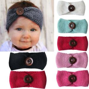 Kid-Baby-Girl-Toddler-Knit-Turban-Hair-Band-Headwear-Headband-Accessories-Lovely