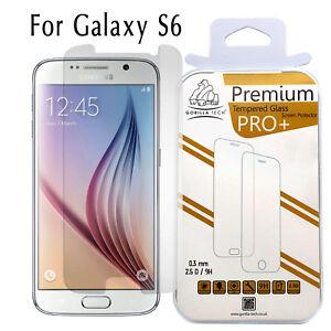 Film-Protecteur-Ecran-en-Verre-Trempe-Veritable-Gorilla-pour-Samsung-Galaxy-S6