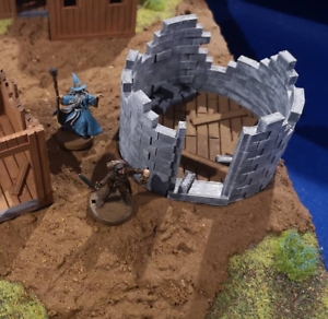 28mm-Ruined-Stone-Tower-Culverin-Models