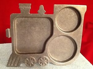 Vintage YORK Metalcrafters Children's TRAIN PLATE 1975 Childs Tray CHEW CHEW
