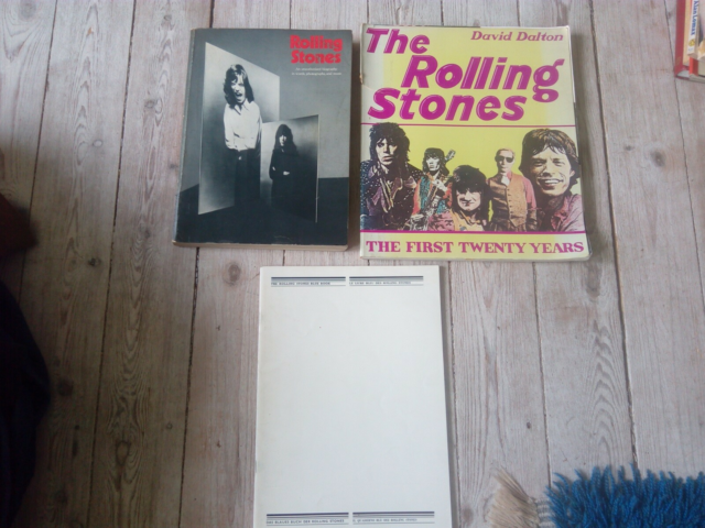 The first twenty years, David Dalton, 3 x Rolling Stones…