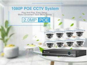 Protect your Property !!! cctv 1080P Security Camera System Free DHL Premium Fast delivery Canada Preview