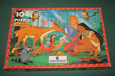 "Gioco Di Societa'/Puzzle "" 104 PEZZI "" Pocahontas / Clementoni / cm.48,5x33,5"