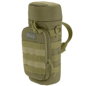 """Maxpedition 12""""x5"""" Large Padded Hydration Water Bottle Holder MOLLE Pouch Khaki"""