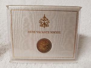 Vatikan-2-Euro-2013-Sede-Vacante-MMXIII-in-orig-Folder