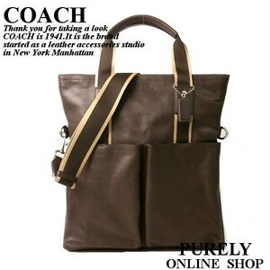 Tote Heritage Foldover Coach F70558 Web Svbr New Messenger Details Brown Bag Leather About O8Zn0wkXNP