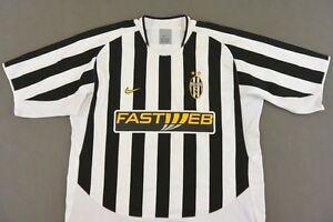 f3eda27c5 Bianconeri Juve 2003-04 nike Juventus Home Shirt SIZE XL (adults ...