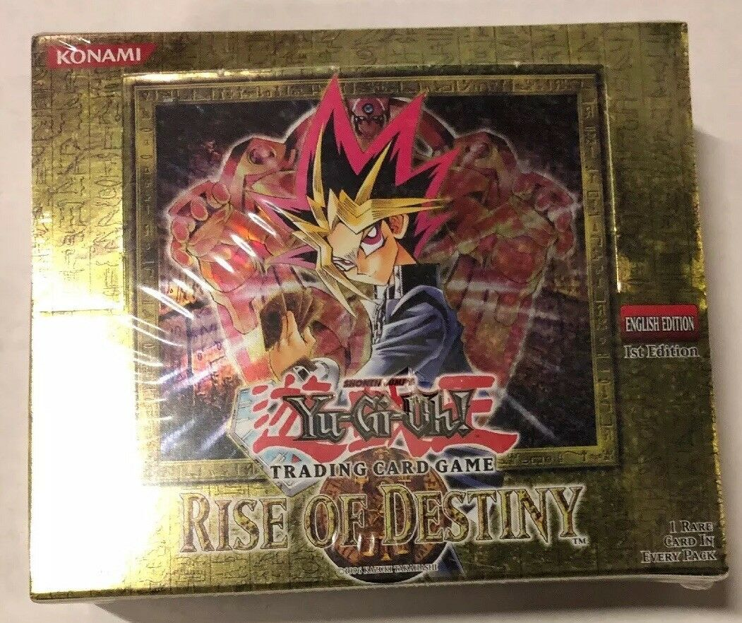 Yugioh Rise of Destiny 1st Edition 24-Count Booster Box TCG CCG Cards
