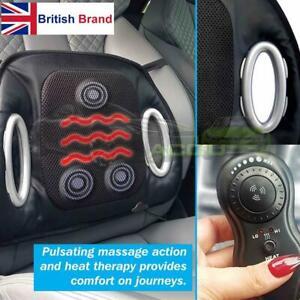 Coprisedile Riscaldato 12v.Dettagli Su 12v Auto Sedile Riscaldato Pulsante Massaggio Lombare Cuscino Telecomando