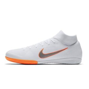 189907ae708c Image is loading Nike-Superfly-X-6-Academy-IC-White-Gray-