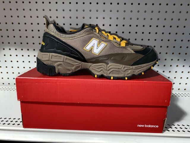 New Balance 801 Mens Athletic Trail Running Hiking Shoes Size 10.5 Brown Yellow