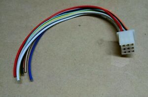 details about kubota 9 pin radio wire harness tractor plug female cd player in dash stereo rtv GM Wiring Harness