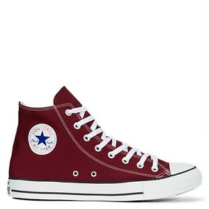 CONVERSE-Chuck-Taylor-All-Star-Classic-High-Top-Scarpe-Sneakers-MAROON-M9613C