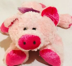 Outstanding Walmart Stores Pink Pig 7 Plush Heart Very Soft Ebay Onthecornerstone Fun Painted Chair Ideas Images Onthecornerstoneorg