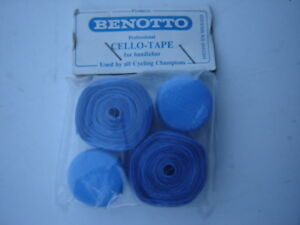 BENOTTO-CELLO-TAPE-FOR-HANDLEBARS-BLUE-NOS-NIP