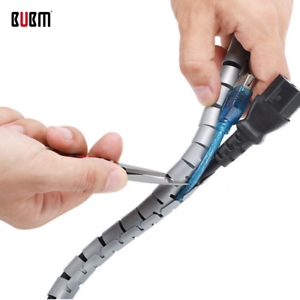 Details about 2*Pcs BUBM Opening Reusable Cable Ties Wire organizer Cord  Fastening Wraps Strap