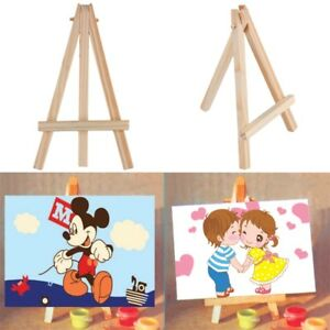 Kids-Mini-Wooden-Easel-Artist-Art-Painting-Name-Card-Stand-Display-Holder-0f