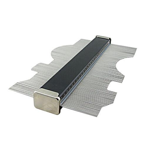 Outil de Duplicateur Contour Jauge de Profil en Alliage d/'Aluminium Jauge de