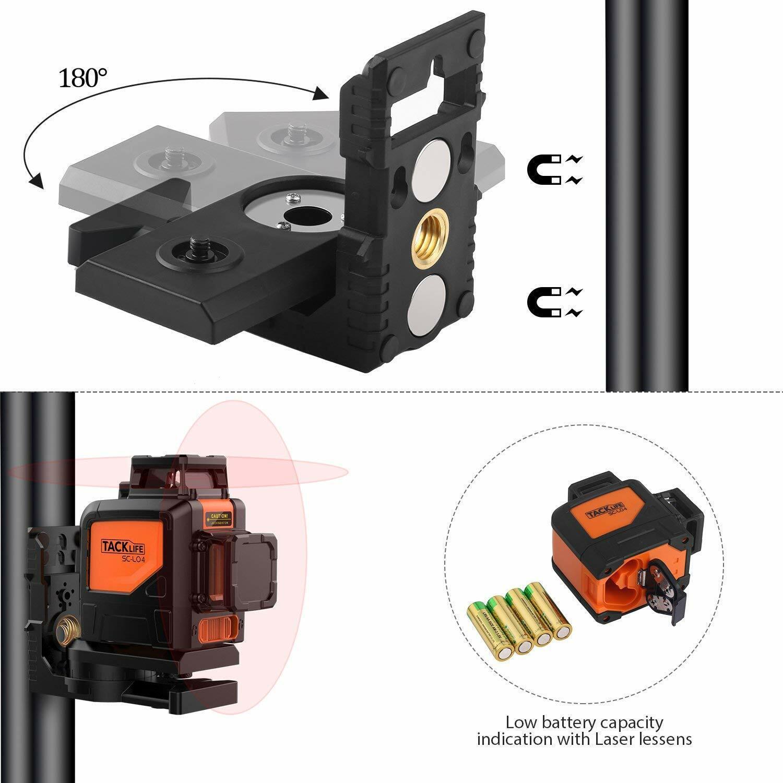 Stativ Baustativ Baustellenlaser Laser Kreuzlinienlaser für zb  Tacklife SC-L04