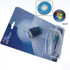 USB TO RS232 SERIAL DB9 9 PIN VISTA CABLE ADAPTER GPS