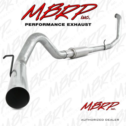 "3. MBRP 4"" Turbo Back, Single Side"