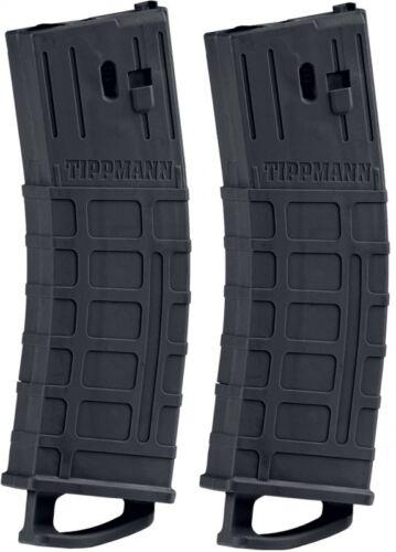 Tippmann 20-Schuss Magazin für TMC 2er Pack Schwarz