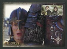 NZ MK HERR DER RINGE / LORD OF THE RINGS MERRY PIPPIN MAXIMUM CARD MC CM m124