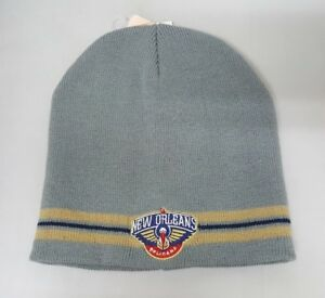 Details About New Orleans Pelicans Gray Nba Beanie Nwt One Size Fits Most