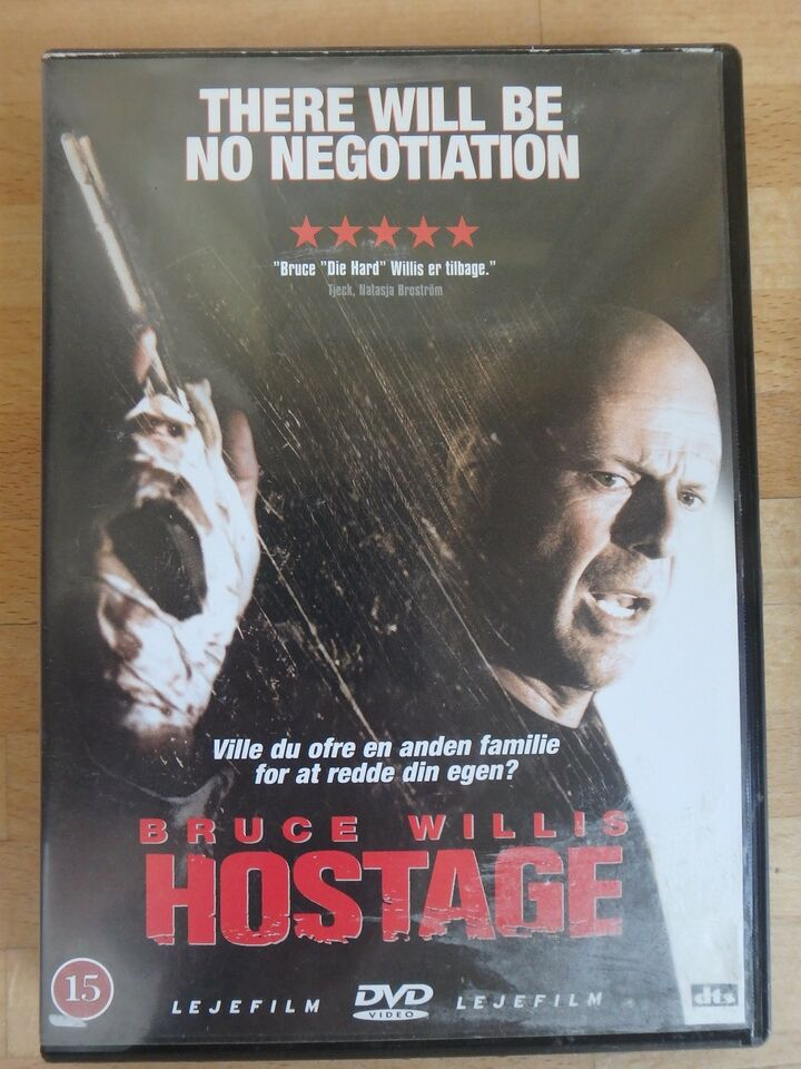 Hostage ( Bruce Willis), instruktør Florent Emilio Siri,