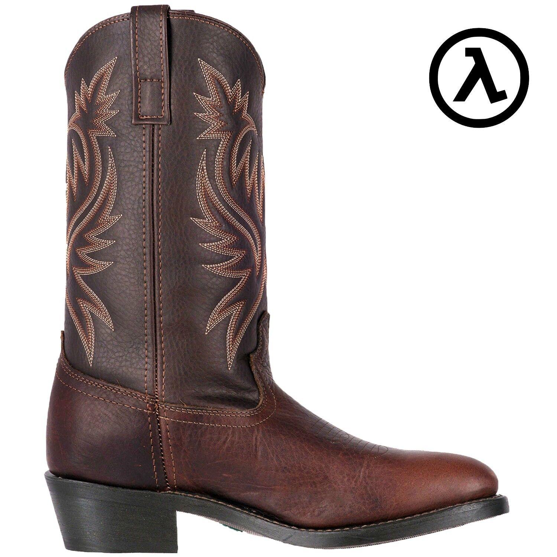 LArojoO PARIS 12  R-Toe cobre occidental de cuero botas de Vaquero 4243  Todas las Tallas