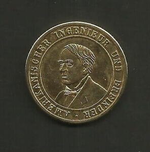 Medaille-Amerikanischer-Ingenieur-Und-Erfinder-Thomas-A-Edison-1847-1931