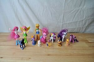 Lot Of 13 My Little Pony Figures Hasbro Ebay