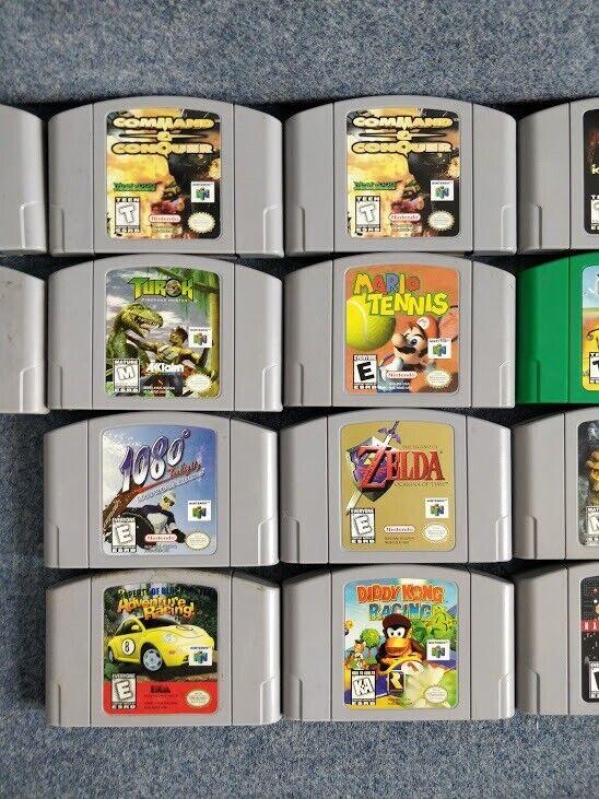 Amerikanske Nintendo 64 spil, N64
