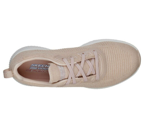 Sizes Fashion Glam 3 New Nude Trainers Total 8 Light Pink Bobs Skechers Squad gTvpqfUxw