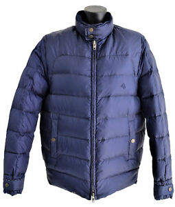 Giubbotto-Aquascutum-London-Piumino-Giacca-Blu-Uomo-Men-Jacket