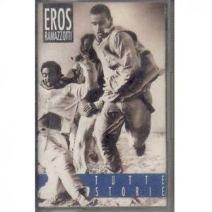 Eros-Ramazzotti-Tutte-Storie-1993-MC-Album-originale-Musicassetta-Audio-Tape