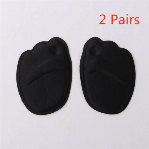 2 Pairs High Heel Invisible Foot Cushions Forefoot Non-Slip Breathable Shoes Pad