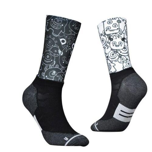 New Fiber Fabric Cycling Socks Professional Bike Team Aero Socks High Quality