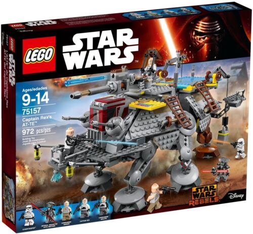 SEALED LEGO CAPTAIN REX/'S AT-TE 75157 STAR WARS SET FREE SHIPPING BRAND NEW