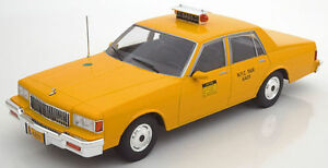 Details About Mcg 1991 Chevrolet Caprice New York City Taxi Yellow 1 18 Rare Find Nice