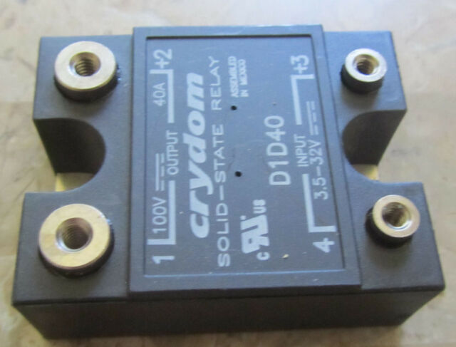 Crydom D2440 Solid-State Relay 3-32V In 240V 40A Out Frymaster 8261562